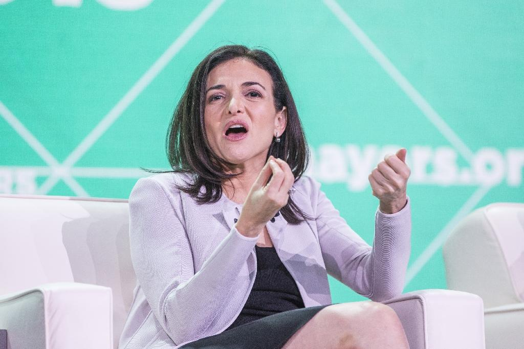 Sheryl Sandberg, chief operating officer of Facebook, will represent the leading social network at a congressional hearing on foreign influence operations (AFP Photo/Scott Eisen)