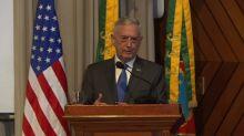 Mattis: 'Queremos trabalhar com brasileiros'
