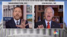 NBC's Chuck Todd Slams Sen. Ron Johnson For Pushing Fox News 'Propaganda'
