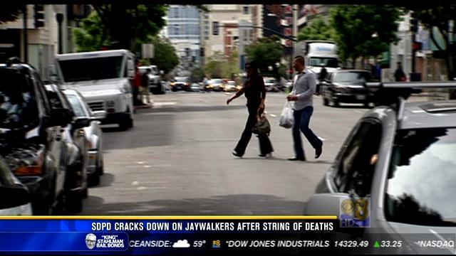 SDPD cracks down on jaywalkers after string of deaths