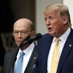 UPDATE 3-Trump administration denies possible ouster of Commerce Secretary Ross