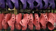 "Crocs are the ""it"" shoe of the coronavirus pandemic"