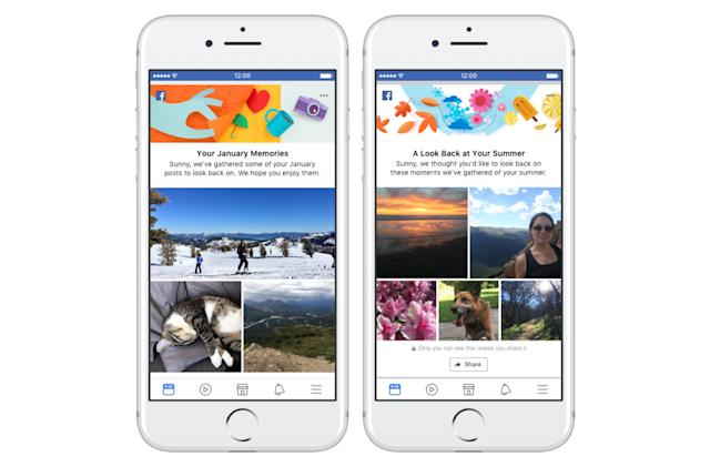 Facebook adds more ways to relive memories in your News Feed