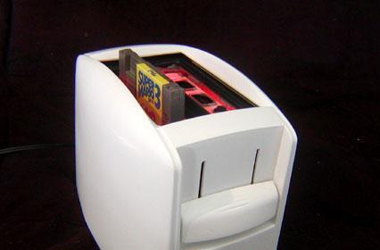Nintoaster mod makes NES games tastier than ever