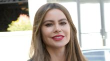 Sofia Vergara's Skinny Jeans & Bodysuit From Walmart Offset Her Towering Louboutins
