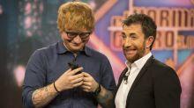 Pablo Motos insinúa que Ed Sheeran es feo y así le responde el cantante