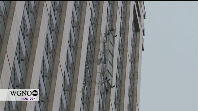 Window Washers Rescued From High-Rise After Scaffolding Accident