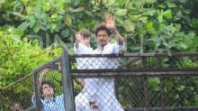 Shah Rukh Khan's son AbRam has the most innocent answer to why people come to see him outside Mannat