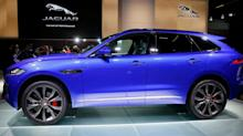 Jaguar's first SUV, the F-Pace, drives JLR sales to record levels