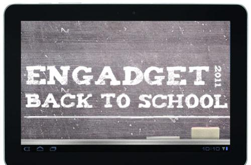 Engadget's back to school guide 2011: tablets