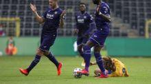 Foot - BEL - Belgique:Anderlecht tenu en échec par Ostende