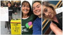 Why these women are flying thousands of miles home to cast a single vote