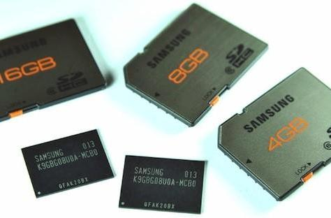 Samsung first with 20-nm NAND Flash: cheaper, faster SD cards on the way (update)