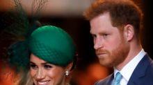 Meghan Markle und Prinz Harry melden sich nach Trumps Tweet zu Wort