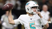 Dolphins visit with Jake Rudock