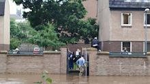 Floods and travel chaos as UK hit with half a month's rain in a day - but prepare to sizzle