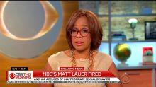 How the morning news shows reacted to Matt Lauer's firing