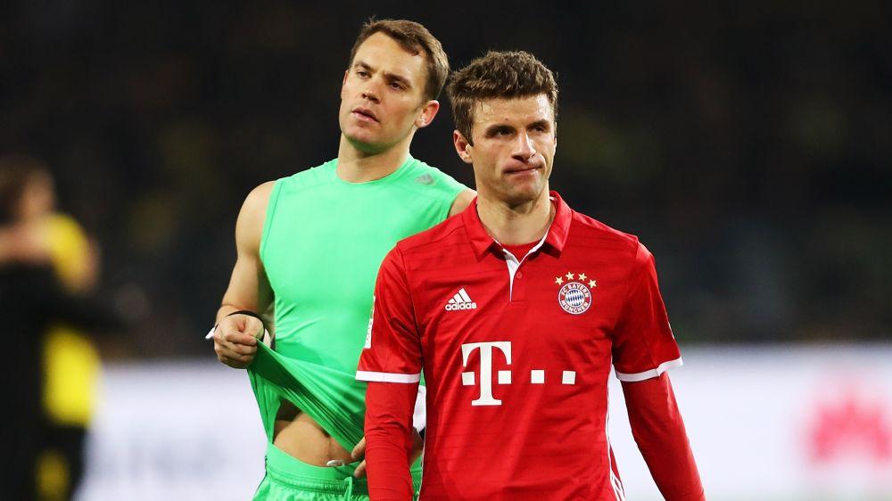 FC Bayern München: Manuel Neuer stärkt Thomas Müller den Rücken