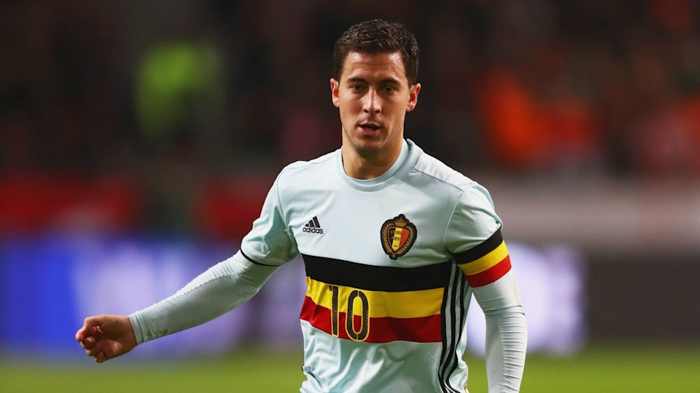 Hazard suffers fractured ankle on Belgium duty