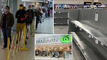 Woolworths reinstates product limits as panic buyers flock to shops