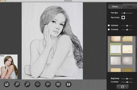 Mac App of the Week: PicSketch turns a photograph into a sketch in just a few seconds