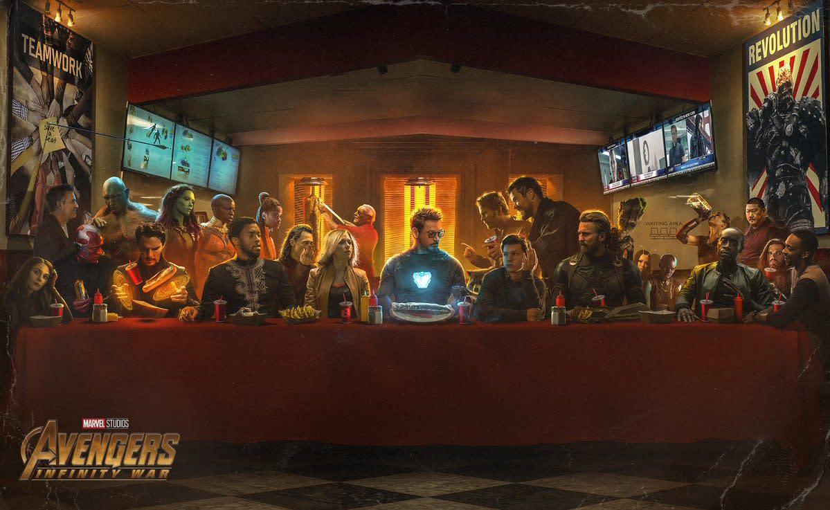 BossLogic Imagines 'Avengers: Infinity War' Characters in