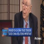 Here's what Charlie Munger thinks about the on-going US-China trade talks