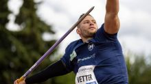 Vetter verpasst Weltrekord mit Fabel-Wurf knapp
