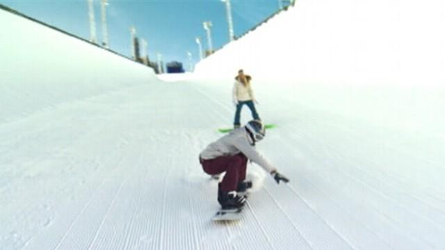 Winter X-Games Begin, Snow Board Champ Returns to Slopes