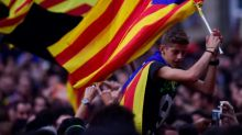 Los bancos catalanes caen en bolsa tras la declaración de independencia