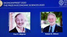 Experts des enchères, deux Américains remportent le Nobel d'économie