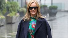 Amanda Holden's L.K. Bennett floral dress has 60% off (and comes with a matching face mask)