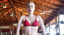Diane Kruger shows off her abs 4 months after giving birth at 42: 'The female body is amazing'