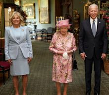 'She reminded me of my mother,' says Joe Biden after tea with the Queen