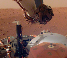 NASA's InSight lander may have just captured a 'Marsquake' for the first time