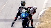 Riders handed two year-suspension for bizarre bust-up