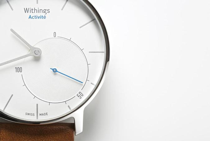 Withings Activité is a fitness tracker disguised as a designer Swiss watch
