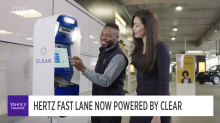 Clear uses biometrics for identification; partners with Hertz