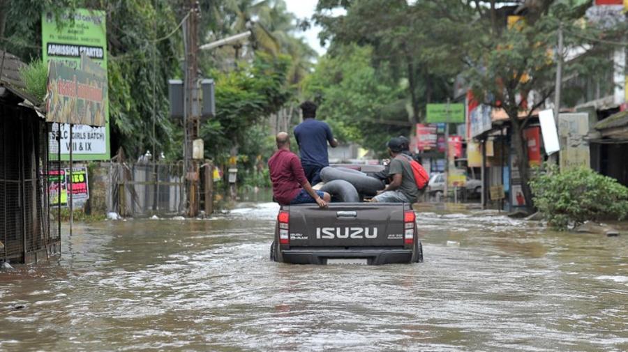 Inde : 324 morts dans les inondations au Kerala