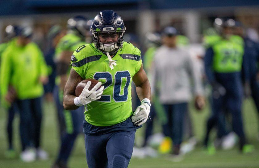 "Rashaad Penny ""ahead of schedule"" in his return from knee surgery"