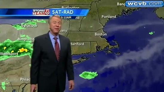 Mike's Thursday Boston area weather forecast