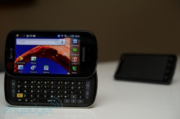 Samsung Epic 4G Gingerbread update is now rolling out