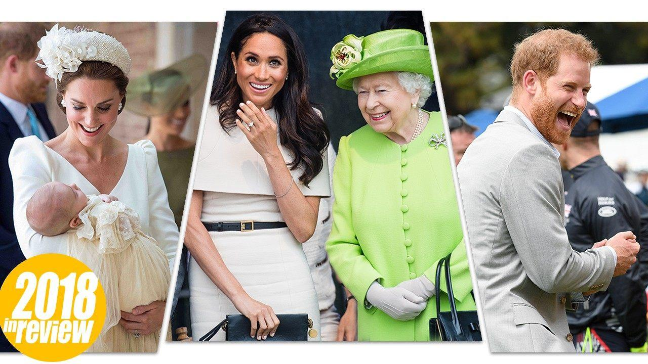 It's been a year of celebration for the royal family.