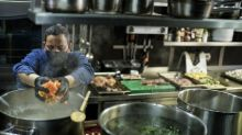 Stir crazy chef serves up soup for health worker