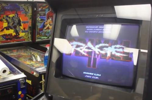 Mythical Primal Rage 2 cabinet appears, playable to all