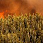 Wildfire-weary West faces thunderstorms and potential flash floods; progress made against Bootleg Fire