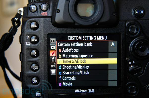 Nikon releases D4 firmware 1.02 with minor display, formatting, network stability improvements in tow