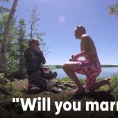 Man secretly swaps outs time capsule for surprise proposal