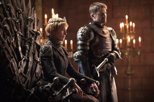 Lena Headey as Cersei Lannister and Nikolaj Coster-Waldau as Jaime Lannister in HBO's Game of Thrones. (Photo: HBO)