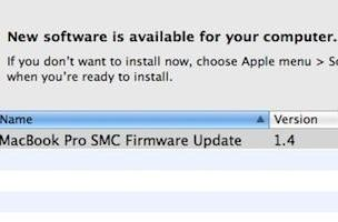 SMC firmware update for 2007-2008 MacBooks now available